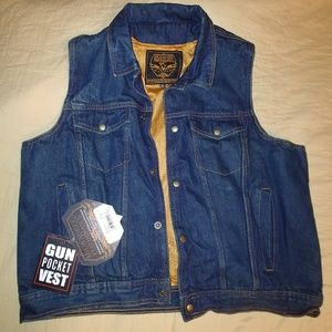 Jean motorcycle jacket